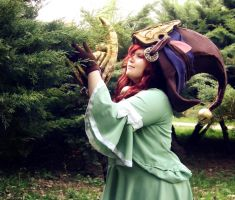 League of Legends - Dragon Trainer Lulu cosplay 01 by CZSKLoLCosplayers