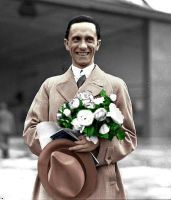 Joseph Paul Goebbels. (in colour) 9 by Julia-Koterias
