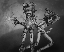 Fending for Ourselves by aisu-isme