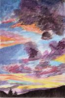 Evening Clouds by Joava
