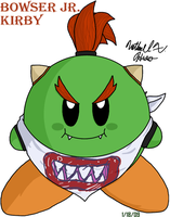 Kirby - Bowser Jr. by BlazingGanondorf