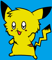 My Pikachu It's So Cute by fooo4