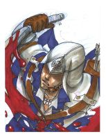 Connor Kenway - sketchcard by sunflowermints