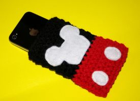 Mickey iPhone Case by rainbowdreamfactory