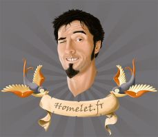 id1-selfportrait by Homelet