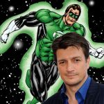 Nathan Fillion as Hal Jordan/Green Lantern by ParisNJones