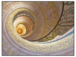 Spiral staircase by mdt