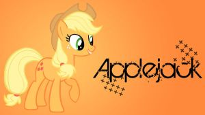 Applejack Added Name WP by Hufflepuff-Disney