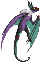 Toulouse - Noivern by Chari-Artist