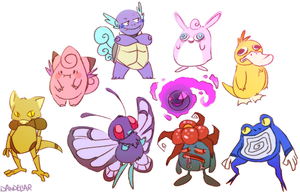 pokeymans by dandeliar