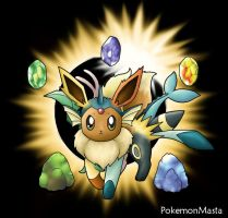 Eevee Multilution:ContestEntry by PokemonMasta