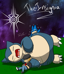 I LOVE SNORLAX by The-Insignia