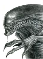 Alien-Pencil by liliesformary
