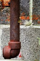 Rusted Pipe Close-up by PAlisauskas