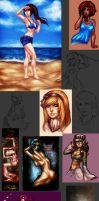ART DUMP 4 + TRADES by Pirate-Cashoo