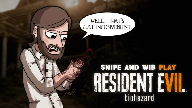 Resident Evil 7 Title Card by wibblethefish