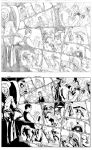 Free Comic Book Day pag 1-2 inks. by Lobo-Cuevas
