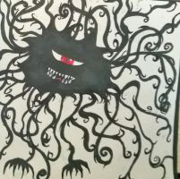 My OCD Monster. (read description) by lilymouse23