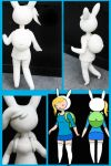 Fionna Figurine Un-painted by KittRen