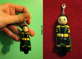 Loki Charm by BloodRed-Orchid