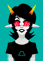 Homestuck - Blind Girl by abbic314