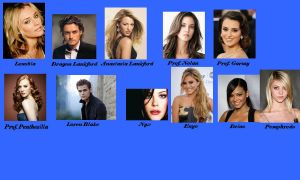 My House of Night Cast Part 2 by Lyne-Chan