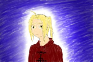 Ed elric doodle by Deadly-fudge
