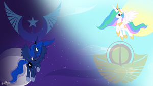 MLP: Wallpaper NLR and SE by SrMario