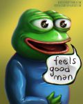 Pepe the Frog - Feels Good Man by HentaiChimp