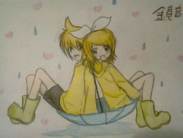 rin and len :D by jesus-cs