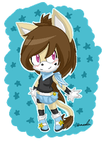 :PC_chibi abril pixel: by Strawberry-amai