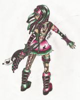 Cyber Goth by TheOpiie