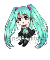 Miku Keychain Sample (UPDATE) by arisa-chibara