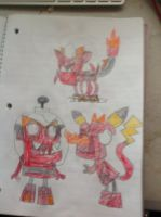 Mixels Wheres Scary Costumes Infernites 2 by thedrksiren