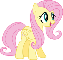 Fluttershy excited by Fehlung