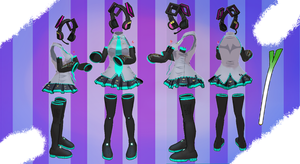 MMD Outfit 35 by MMD3DCGParts