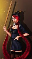 Headmistress Fiora by zhulikova