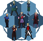 Collab: Character Fusion Meme by Clock-workable