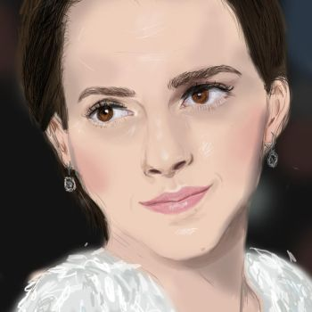 emma watson drawing did by LizzyUnexpected