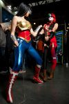 Injustice - Wonder Woman and Harley Quinn by mchechenev
