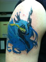 Queen Chrysalis Tattoo by NarcissusTattoos