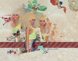 nicki minaj blend 42 by nikito0o