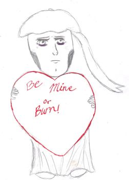 Be mine or you will burn by WhiteLilac23