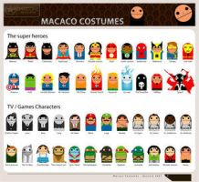 :: Macaco Costumes :: by Club-Vector