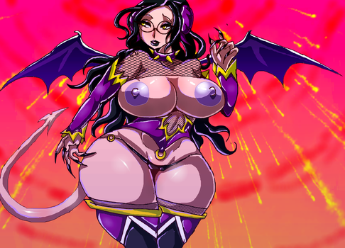 Lilly the  succubus by MooshikieFoxy00