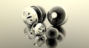 chrome balls reflexion by KRYPT06