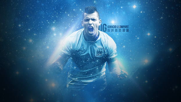 Aguero Wallpaper by ignaxxx