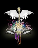 Guitar Shirt by unchartedterritory