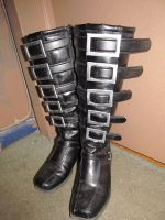 Alice: Madness Returns - Custom made Cosplay Boots by emmadreamstar
