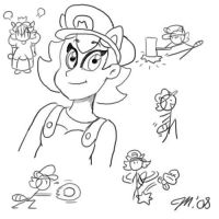 MMSis Sketches by melissaduck